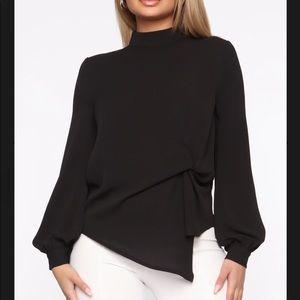 💎 Fashion Nova Twist Blouse